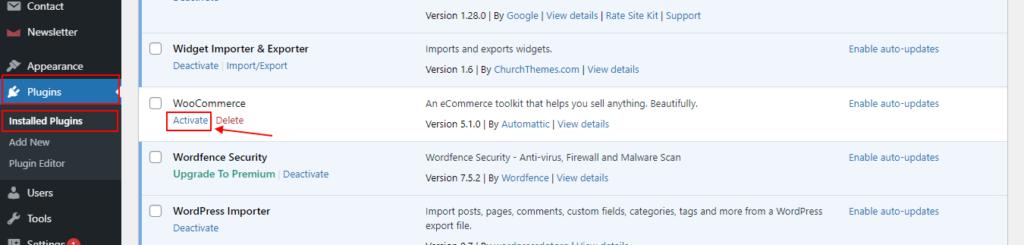 FTP Plugin Installation Step 2
