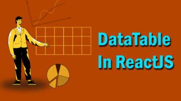 DataTable in ReactJS