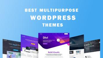 Best WordPress Multipurpose Themes
